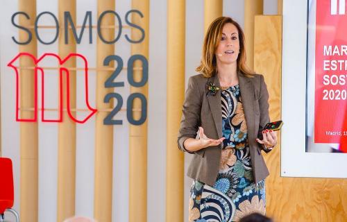 Patricia Leiva, directora de Comunicación, Relaciones Institucionales y Sostenibilidad de Mahou San Miguel.