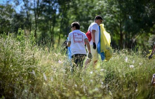 Casi 11.000 voluntarios participaron en esta gran recogida de basuraleza.