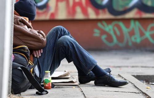 Según el informe Arope, el 26,1 por ciento de la población está en riesgo de pobreza y exclusión.