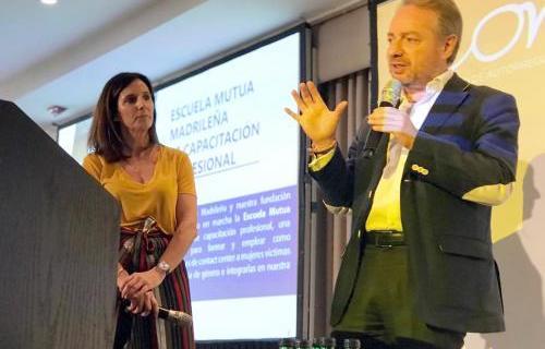 Intervención de Lorenzo Cooklin y Ainhoa Lujambio en ONU Mujeres.