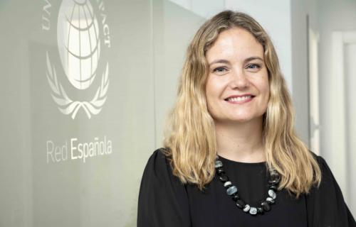 Isabel Garro, directora general de la Red Española de Pacto Mundial.