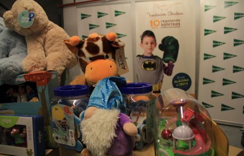 El Corte Inglés donará a Fundación Aladina más de 3.000 juguetes