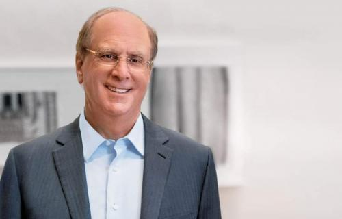 Larry Fink, presidente de BlackRock