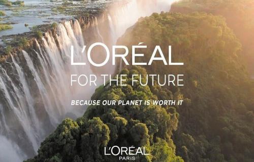La reducción de su huella hídrica, una de las premisas del nuevo plan de L'Oreal
