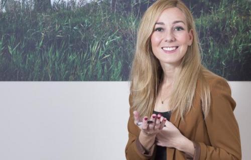 María José Gálvez, directora de Sostenibilidad de Bankia.