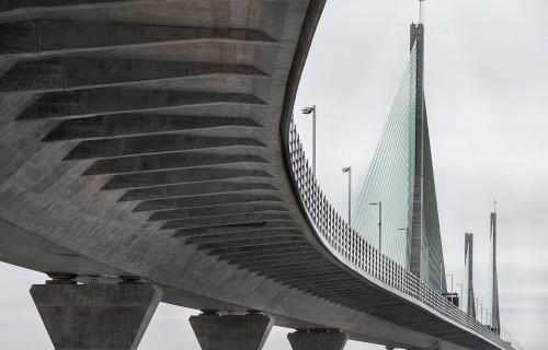 Puente de Mersey, en las proximidades de Liverpool (Reino Unido), construido por FCC Construcción.