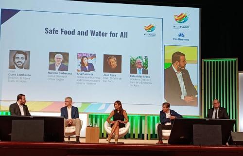 Debate del Foro de la Economía del Agua