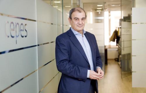 Juan Antonio Pedreño, presidente de Cepes. (Foto: Jorge Villa).