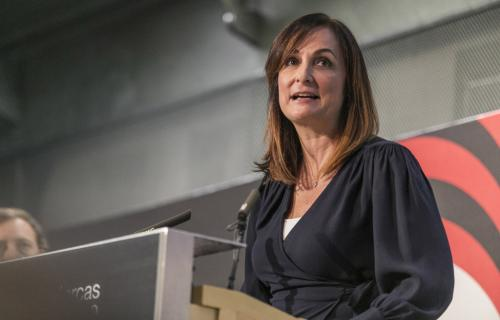 Nancy Villanueva, directora general de Interbrand Madrid.