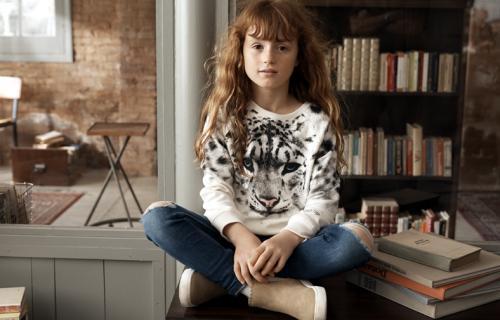 Colección infantil de moda sostenible lanzada por H&M junto con WWF