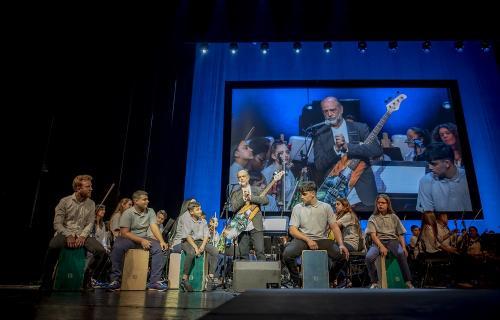La Orquesta de La Música del Reciclaje.