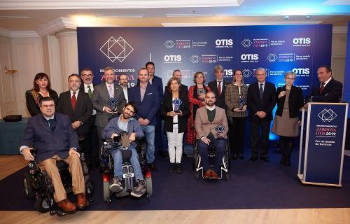 Imagen de los premiados en la edición anterior.