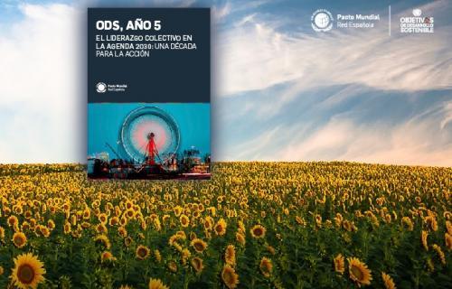Portada del informe de la Red Española del Pacto Mundial.