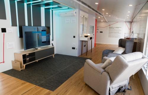 Salón de la 'Casa Inteligente, Accesible y Sostenible' de Fundación ONCE.