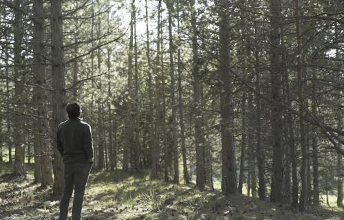 Javier Navarro, guarda forestal de la Comarca de las Cuencas Mineras, es una de las personas homenajeadas por Coca-Cola en la campaña.