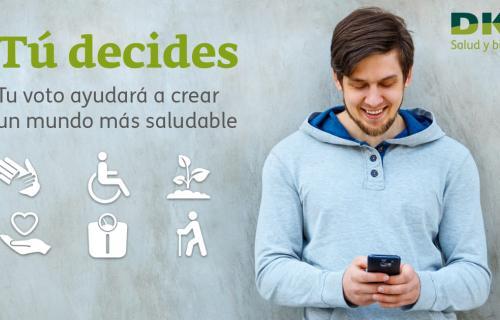 Imagen de la campaña 'Tú decides' de DKV Seguros.