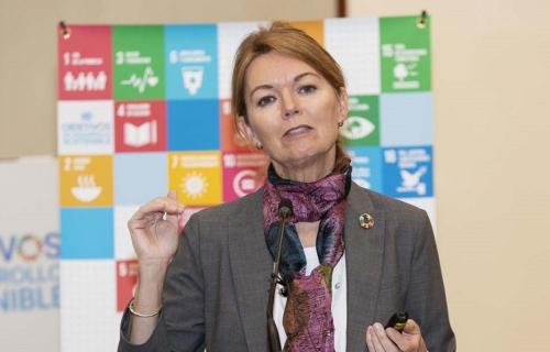 Lise Kingo, CEO y directora ejecutiva del Pacto Mundial