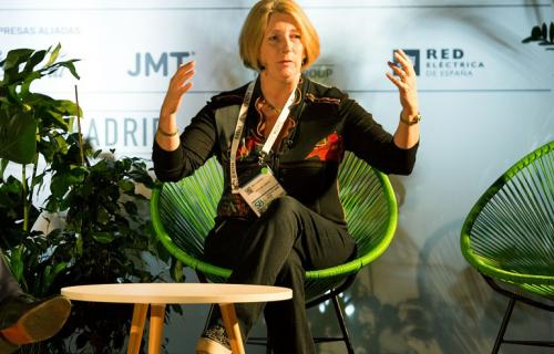 Sue Garrard, exvicepresidenta ejecutiva de Negocio Sostenible y Comunicación de Unilever.