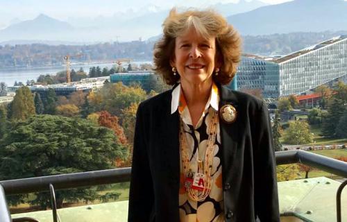 Teresa Fogelberg, directora ejecutiva adjunta de GRI.