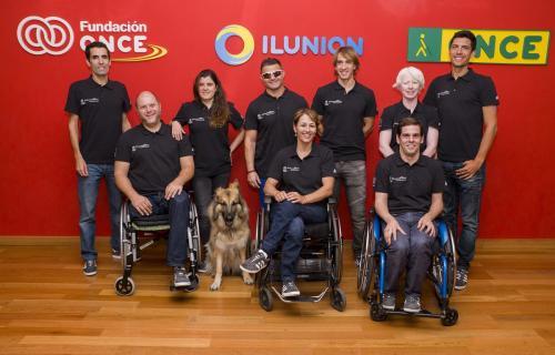 Miembros del equipo 'Trainers paralímpicos'
