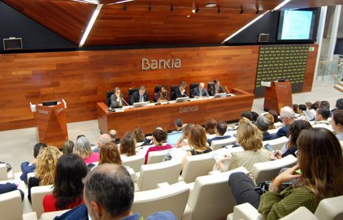La jornada se celebró en la sede de Bankia.