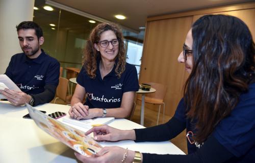 Voluntarios corporativos de Gas Natural Fenosa.