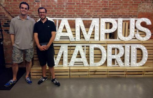 Carlos Hernando y David Martín-Corral, cofundadores de Zensei