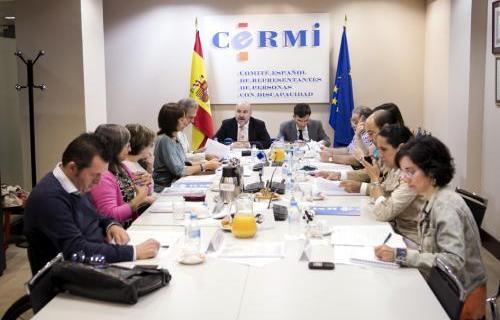 Reunión directiva del Cermi.