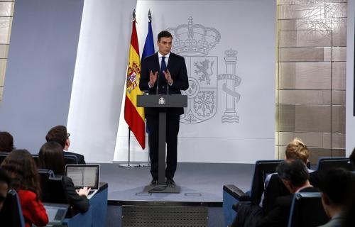 El presidente del Gobierno, Pedro Sánchez. Foto: Pool Moncloa / JM Cuadrado.