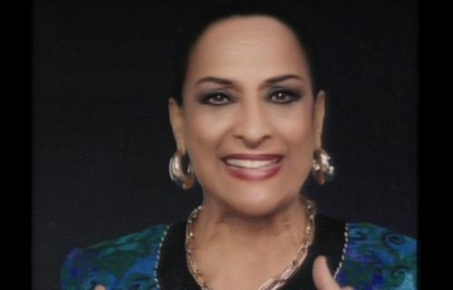 Recreación virtual de Lola Flores en la campaña.