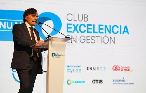 Intervención de Alberto Durán, presidente del Club Excelencia en Gestión, en el Foro Anual.