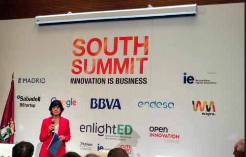 María Benjumea, durante la presentación del Mapa del Emprendimiento 2018.