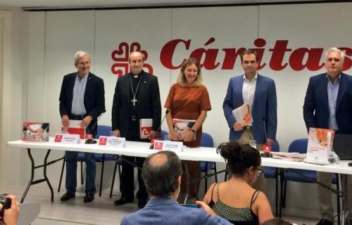 Rueda de prensa de Cáritas y la Fundación Foessa (Foto: Cáritas)