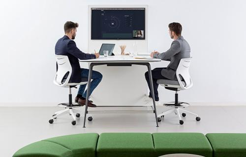 Reunión laboral virtual