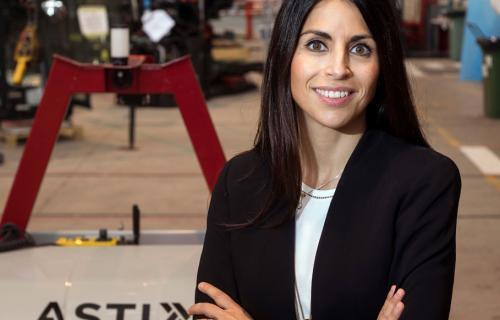 Verónica Pascual, CEO de ASTI TechGroup.