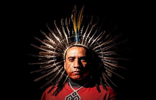 el líder indígena Dinaman Tuxá