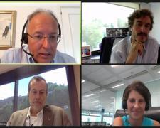 Panel de expertos durante la presentación del estudio de DIRSE y beethik