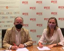 Firma del acuerdo de colaboración entre DIRSE e IESE