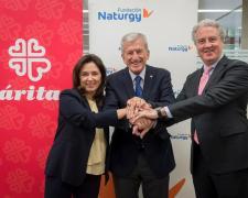 María Eugenia Coronado, Manuel Bretón y Jordi Garcia Tabernero