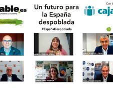 Ponentes del encuentro 'Un futuro para la España despoblada'