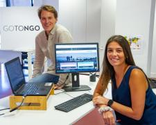 La plataforma permite centralizar todas las ofertas y contactar con la persona candidata
