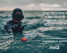Imagen de la campaña de Coca-Cola ' Hagámoslo juntos'