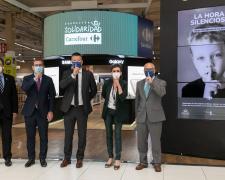 Acto de presentación de La Hora Silenciosa en los centros Carrefour España