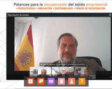 En el encuentro, se abordaron las claves de la recuperación económica tras la crisis de la COVID 19