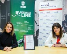 Sodexo Iberia, logra la certificación de Bureau Veritas para minimizar el desperdicio alimentario.